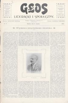 Głos Literacki i Społeczny. 1900, nr5