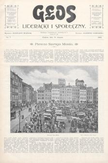 Głos Literacki i Społeczny. 1900, nr7