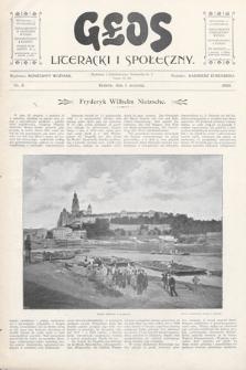 Głos Literacki i Społeczny. 1900, nr8
