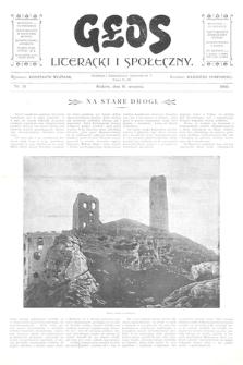 Głos Literacki i Społeczny. 1900, nr10