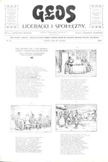 Głos Literacki i Społeczny. 1900, nr12