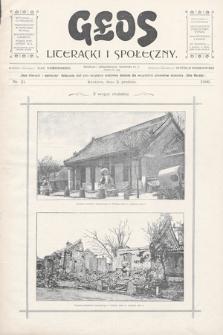 Głos Literacki i Społeczny. 1900, nr21