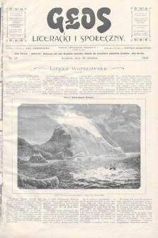Głos Literacki i Społeczny. 1900, nr25