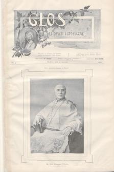 Głos Literacki i Społeczny. 1901, nr4