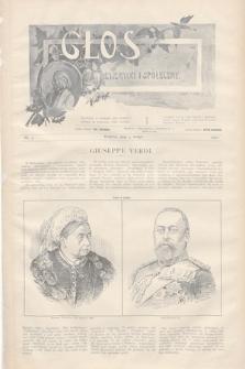 Głos Literacki i Społeczny. 1901, nr5