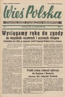 Wieś Polska : tygodnik Obozu Zjednoczenia Narodowego. 1937, nr6