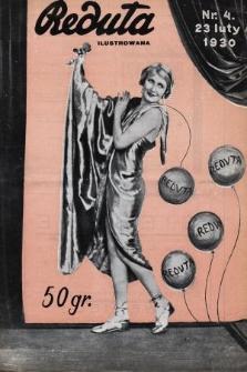 Reduta Ilustrowana. 1930, nr4