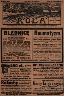 Rola : ilustrowany bezpartyjny tygodnik ku pouczeniu i rozrywce. 1931, nr48