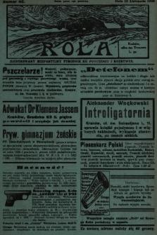 Rola : ilustrowany bezpartyjny tygodnik ku pouczeniu i rozrywce. 1932, nr46