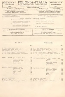 Polonia-Italia : organ Izby Handlowej Polsko-Italskiej = organo della Camera di Commercio Polacco-Italiana. 1932, nr7-9