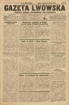 Gazeta Lwowska. 1935, nr42