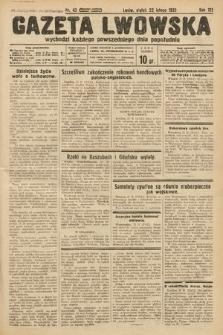 Gazeta Lwowska. 1935, nr43