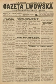 Gazeta Lwowska. 1935, nr45