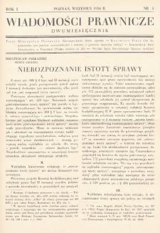 Wiadomości Prawnicze. 1936, nr5