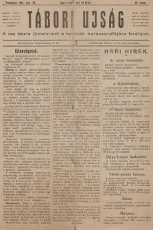 Tábori ujság : a lap tiszta jövedelmét a katonák karácsonyfájara forditjuk. 1914, szám46
