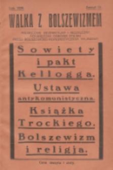 Walka z Bolszewizmem : miesięcznik bezpartyjny i niezależny, poświęcony obronie Polski przed bolszewicko-komunistycznym najazdem. 1929, nr18