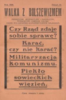 Walka z Bolszewizmem : miesięcznik bezpartyjny i niezależny, poświęcony obronie Polski przed bolszewicko-komunistycznym najazdem. 1929, nr23