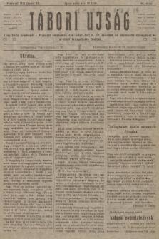 Tábori ujság : a lap tiszta jövedelmét a Przemysl védelmében hösi halált halt m. kir. honvédek és népfelkelök özvegyeinek és árváinak támogatására forditjuk. 1915, szám96