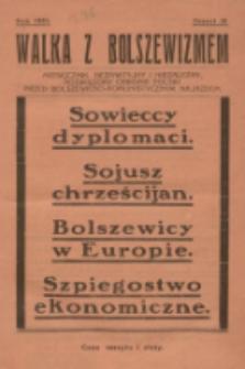 Walka z Bolszewizmem : miesięcznik bezpartyjny i niezależny, poświęcony obronie Polski przed bolszewicko-komunistycznym najazdem. 1930, nr26