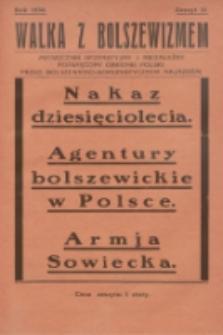 Walka z Bolszewizmem : miesięcznik bezpartyjny i niezależny, poświęcony obronie Polski przed bolszewicko-komunistycznym najazdem. 1930, nr31