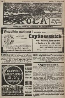 Rola : ilustrowany bezpartyjny tygodnik ku pouczeniu i rozrywce. 1938, nr7