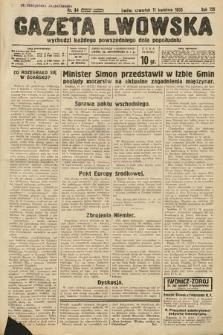 Gazeta Lwowska. 1935, nr84