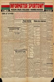 Informator Sportowy : miesięcznik Związku Strzeleckiego - Podokręgu Kieleckiego. 1939, nr 2