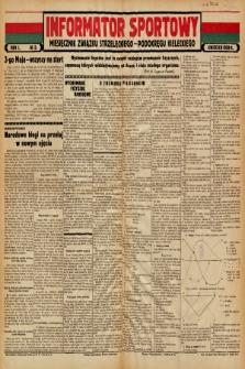 Informator Sportowy : miesięcznik Związku Strzeleckiego - Podokręgu Kieleckiego. 1939, nr 3