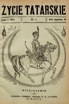 Życie Tatarskie. 1937, nr 2