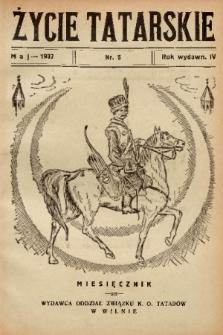 Życie Tatarskie. 1937, nr 5