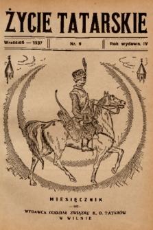 Życie Tatarskie. 1937, nr 9