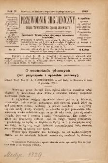 Przewodnik Higjeniczny : Organ Towarzystwa Opieki Zdrowia. 1890, nr 2