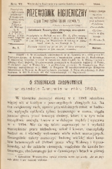 Przewodnik Higjeniczny : Organ Towarzystwa Opieki Zdrowia. 1894, nr 3
