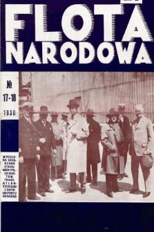 Flota Narodowa : czasopismo poświęcone polskiej ekspansji morskiej. 1930, nr17-18 (5-6)