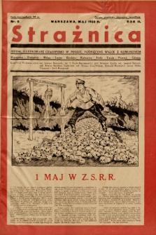 Strażnica : jedyne ilustrowane czasopismo w Polsce, poświęcone walce z komunizmem. 1933, nr 6