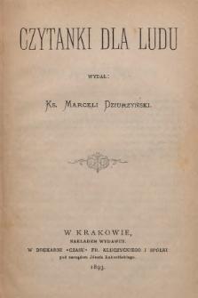 Czytanki dla Ludu. 1893, nr5