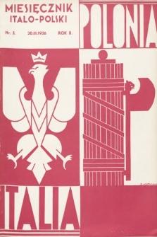 Polonia-Italia : miesięcznik italo-polski. 1936, nr3