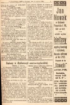 Ilustrowana Gazeta Polska : niezależne pismo codzienne. 1914, nr25