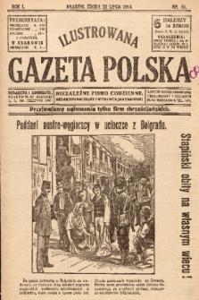 Ilustrowana Gazeta Polska : niezależne pismo codzienne. 1914, nr56