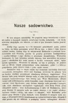 Ogrodnik Zawodowy : organ Towarzystwa Ogrodników Zawodowych we Lwowie. 1901, nr2