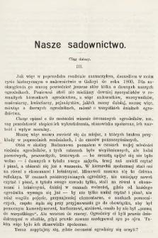 Ogrodnik Zawodowy : organ Towarzystwa Ogrodników Zawodowych we Lwowie. 1901, nr3