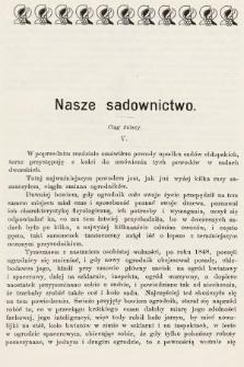 Ogrodnik Zawodowy : organ Towarzystwa Ogrodników Zawodowych we Lwowie. 1901, nr5
