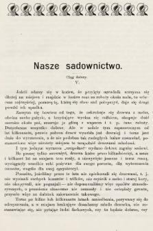 Ogrodnik Zawodowy : organ Towarzystwa Ogrodników Zawodowych we Lwowie. 1901, nr6
