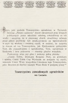 Ogrodnik Zawodowy : organ Towarzystwa Ogrodników Zawodowych we Lwowie. 1901, nr7