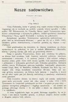 Ogrodnik Zawodowy : organ Towarzystwa Ogrodników Zawodowych we Lwowie. 1901, nr8