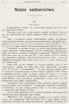 Ogrodnik Zawodowy : organ Towarzystwa Ogrodników Zawodowych we Lwowie. 1901, nr11