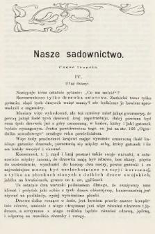 Ogrodnik Zawodowy : organ Towarzystwa Ogrodników Zawodowych we Lwowie. 1902, nr4