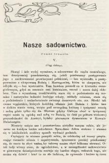 Ogrodnik Zawodowy : organ Towarzystwa Ogrodników Zawodowych we Lwowie. 1902, nr7