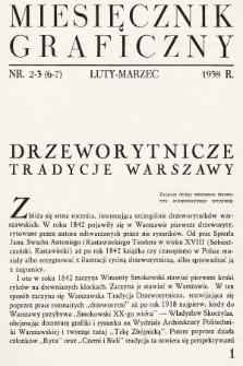 Miesięcznik Graficzny. 1938, nr2-3