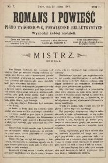 Romans i powieść : pismo tygodniowe poświęcone beletrystyce. 1900, nr7